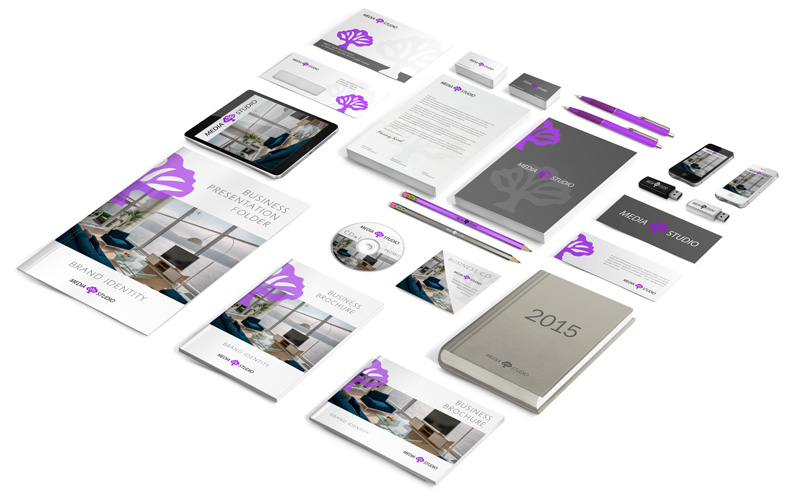 Grafika corporate branding